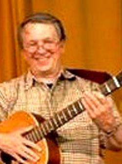 Dr Neill Simpson, Treasurer and Folk Music performer, Campsie Fest, Milton of Campsie, St. Andrews Festival, Scotland