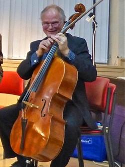 Götz Bucher, Cellist, Milton of Campsie, St. Andrews, Campsie Fest, Scotland