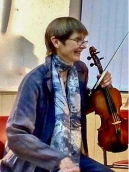 Sieglinde Bucher-Roelcke Young Folks' on Stage organizer, Campsie Fest, St. Andrews Festival, Milton of Campsie, Scotland