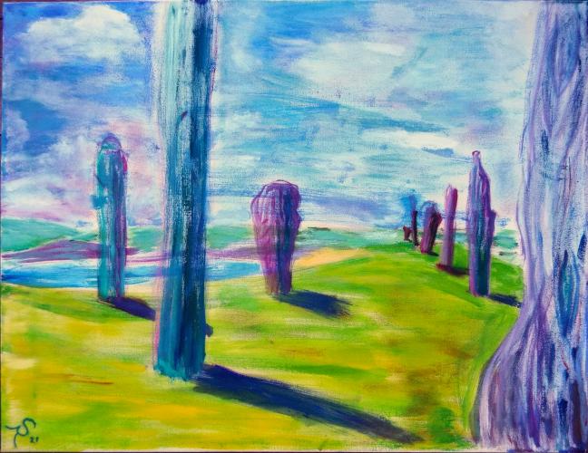 Sieglinde Roelcke, Campsie, Milton of Campsie, St. Andrew's, Festivals, Scotland